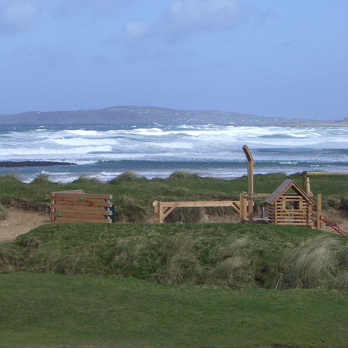 Ballyliffin.  A SSSI protected site in Donegal