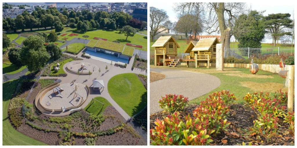 Brooke Park is Derry is now open following a major regeneration project which included works by Nature Play Ireland.